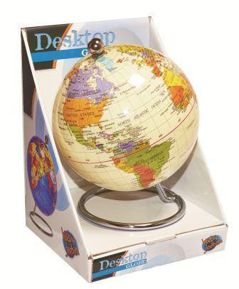HEEBIE JEEBIES Antique Destop Globe 10cm