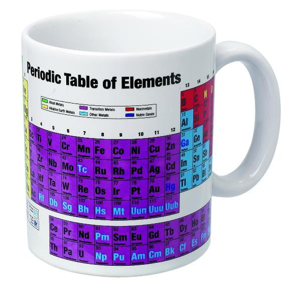 HEEBIE JEEBIES Mug Periodic Table