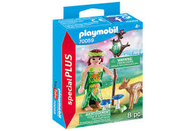 PLAYMOBIL Fairies -  Fairy with Deer 70059