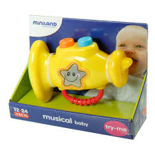 Miniland Educational Baby Musical trumpet