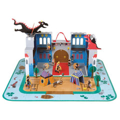 JANOD Knight Castle Take Along Playset