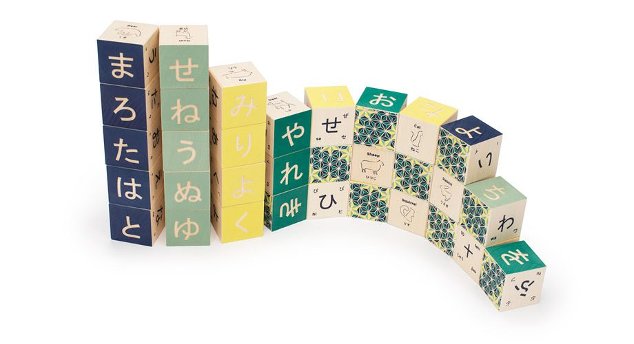 UNCLE GOOSE Japanese Character Blocks
