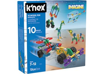 K'Nex –  10 Model Fun Buiilding Set - 17009