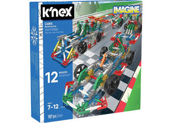 K'Nex – Cars Building Set - 25525