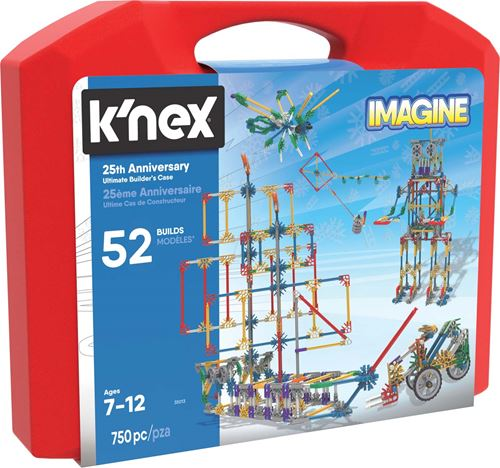K'Nex –  25th Anniversary Ultimate Builders Case- 35013