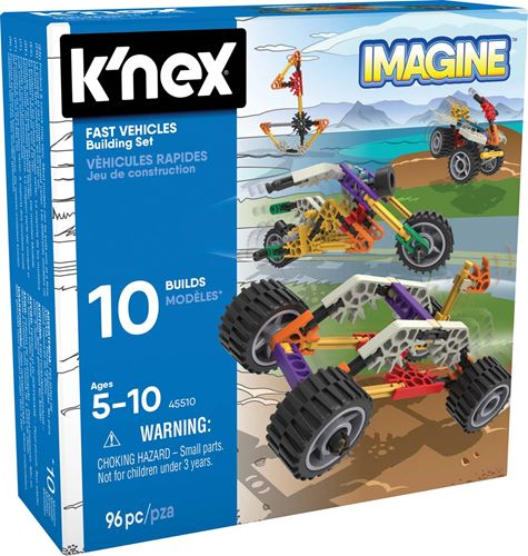K'Nex –Fast Vehicles Building Set  - 45510