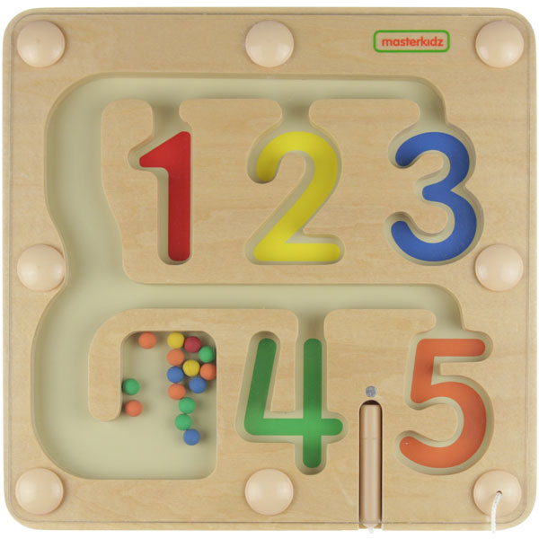 MASTERKIDZ 1-5 Numbers Learning Magnetic Maze