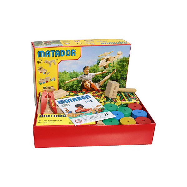 MATADOR Kindergarten Construction Set Ki 3