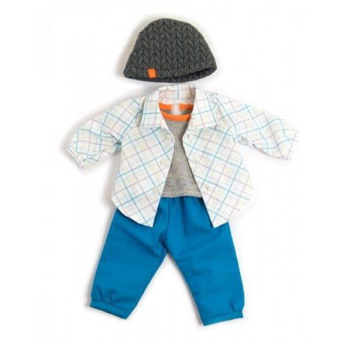 MINILAND Clothing Blue Spring set, (38-42 cm Doll)