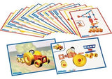 MOBILO Workcards Including Large Wheels - Pack 16