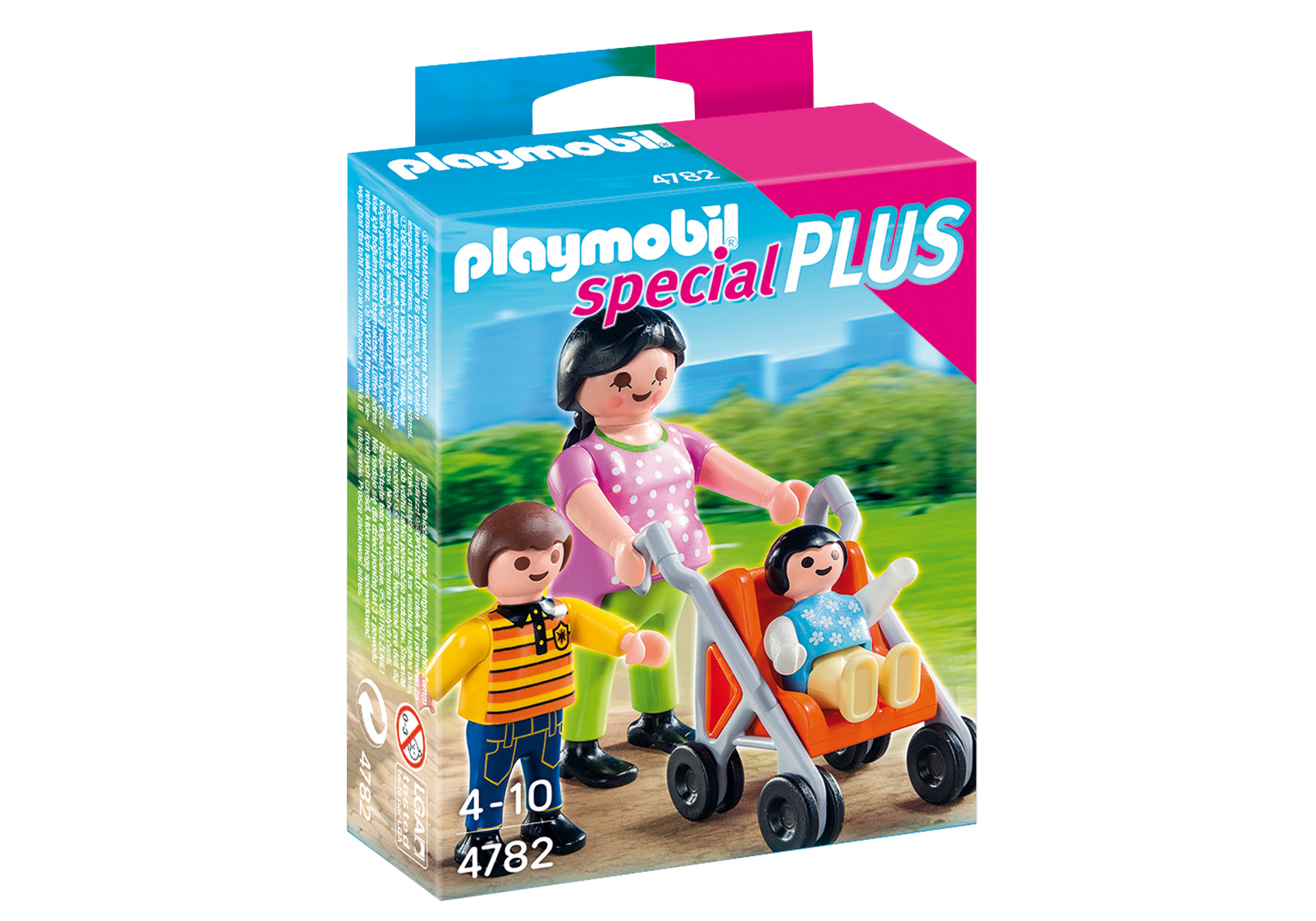 PLAYMOBIL City Life Mother with Children 4782