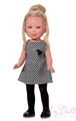 DRESS MY DOLL Black Plain Tights