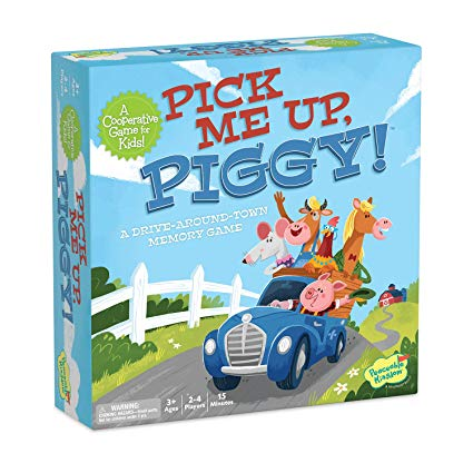 Peaceable Kingdom - Game - Pick Me Up Piggy - Co-operative