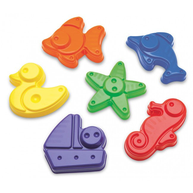 PLASTO TOYS Sand Moulds Assorted each