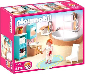 PLAYMOBIL Dollhouse - Modern Bathroom 5330