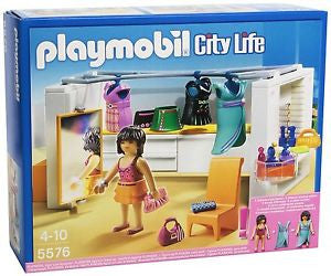 PLAYMOBIL Dollhouse Modern Dressing Room 5576