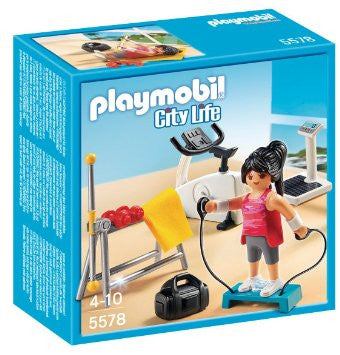 PLAYMOBIL Dollhouse Modern Fitness Room 5578