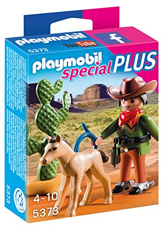 PLAYMOBIL Cowboy with Foal 5373