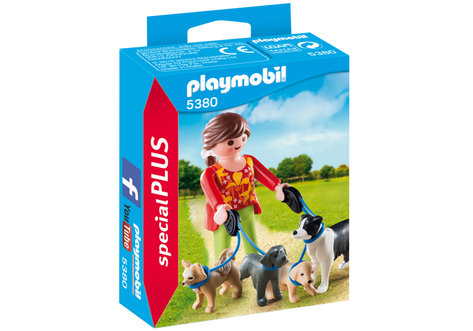 PLAYMOBIL City Life Dog Walker 5380