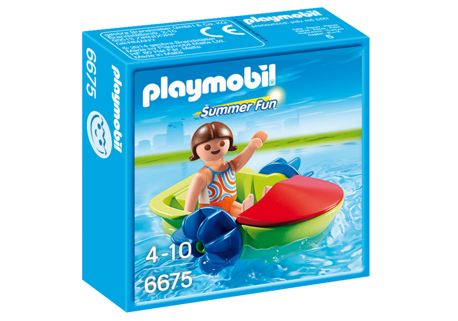 PLAYMOBIL Summer Fun Paddle Boat 6675