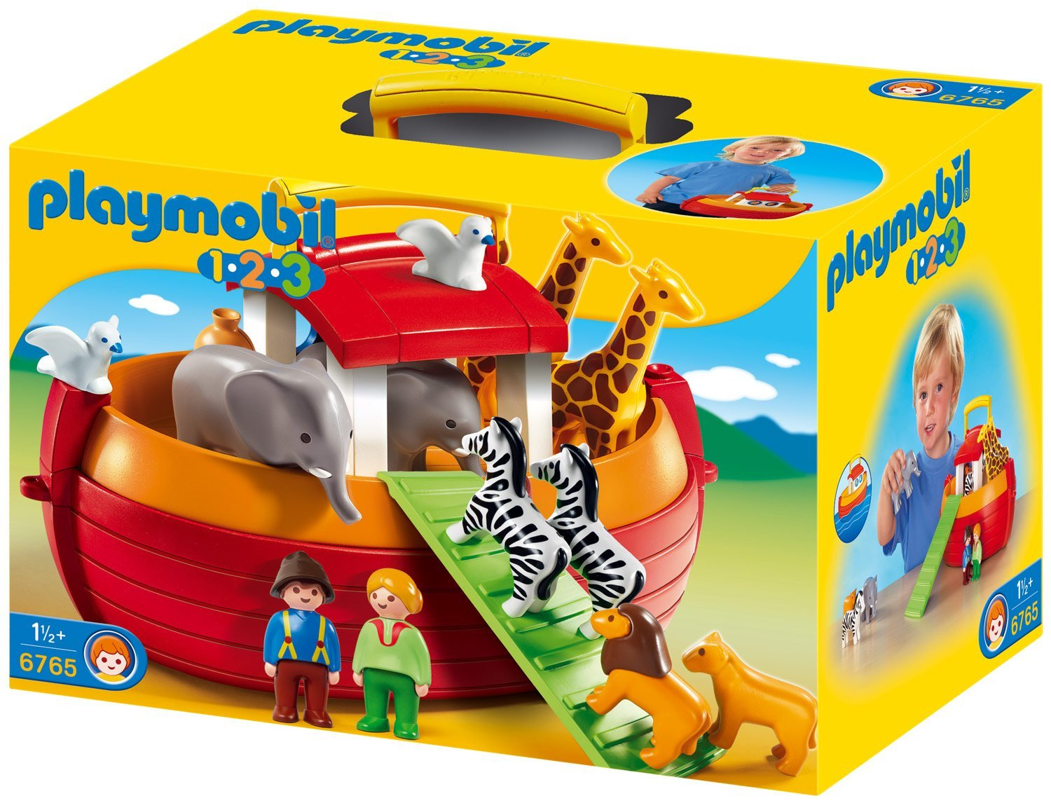 PLAYMOBIL 123 Take Along Noah's Ark 6765