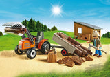 PLAYMOBIL Country Timber/Lumber Yard 6814