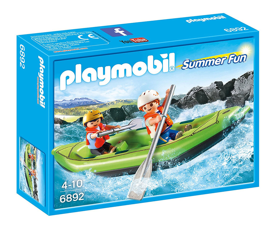 PLAYMOBIL Summer Whitewater Rafters 6892