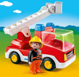 PLAYMOBIL 123 - Ladder Unit Fire Truck 6967