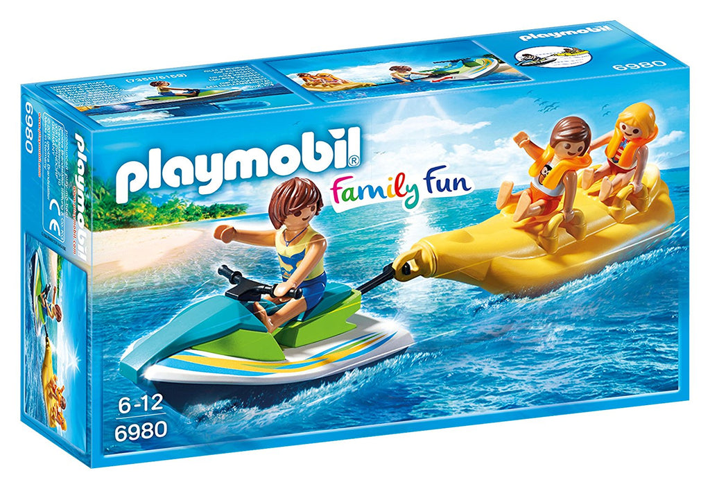 PLAYMOBIL Family Fun Personal Jet Ski with Banana Boat 6980