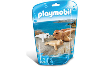 PLAYMOBIL Aquarium/Zoo - Seal with Pups 9069