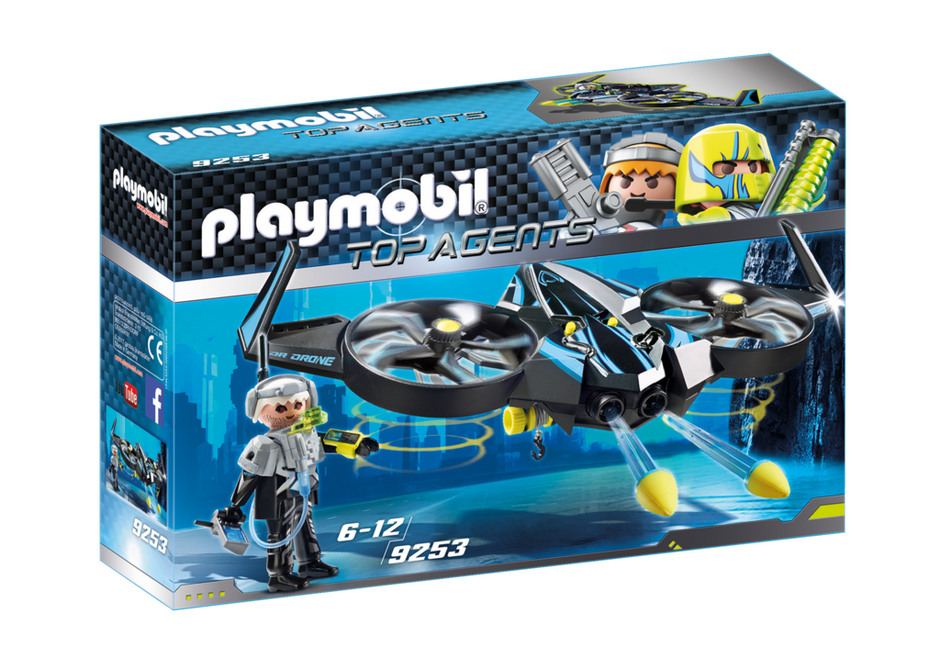 PLAYMOBIL – Top Agents -Mega Drone 9253