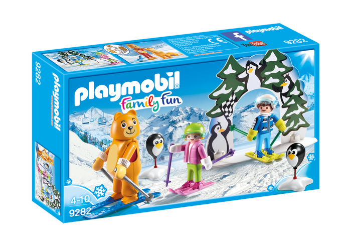 PLAYMOBIL Family Fun - Winter Ski School 9282