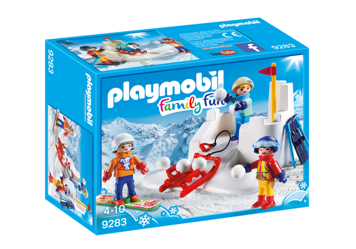 PLAYMOBIL Family Fun - Winter Snow Fight 9283