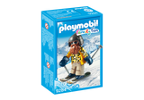 PLAYMOBIL Family Fun - Winter Skier with Snow Blades 9284
