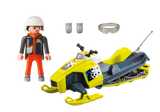 PLAYMOBIL Family Fun - Winter Snowmobil 9285