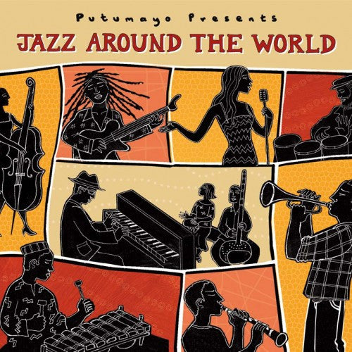 PUTUMAYO MUSIC Jazz around the World CD