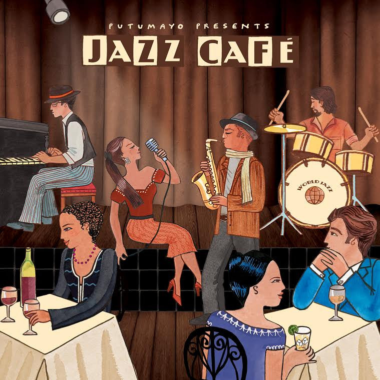 PUTUMAYO MUSIC Jazz Cafe CD