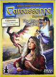 CARCASSONNE: EXPANSION 3: THE PRINCESS AND THE DRAGON BOARD GAME