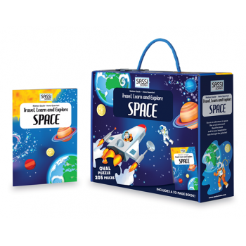 SASSI Travel, Learn and Explore - Space Puzzle 205 pc