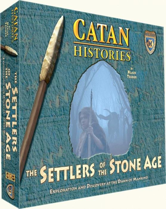 CATAN -  Settlers of the Stone Age - Core Game
