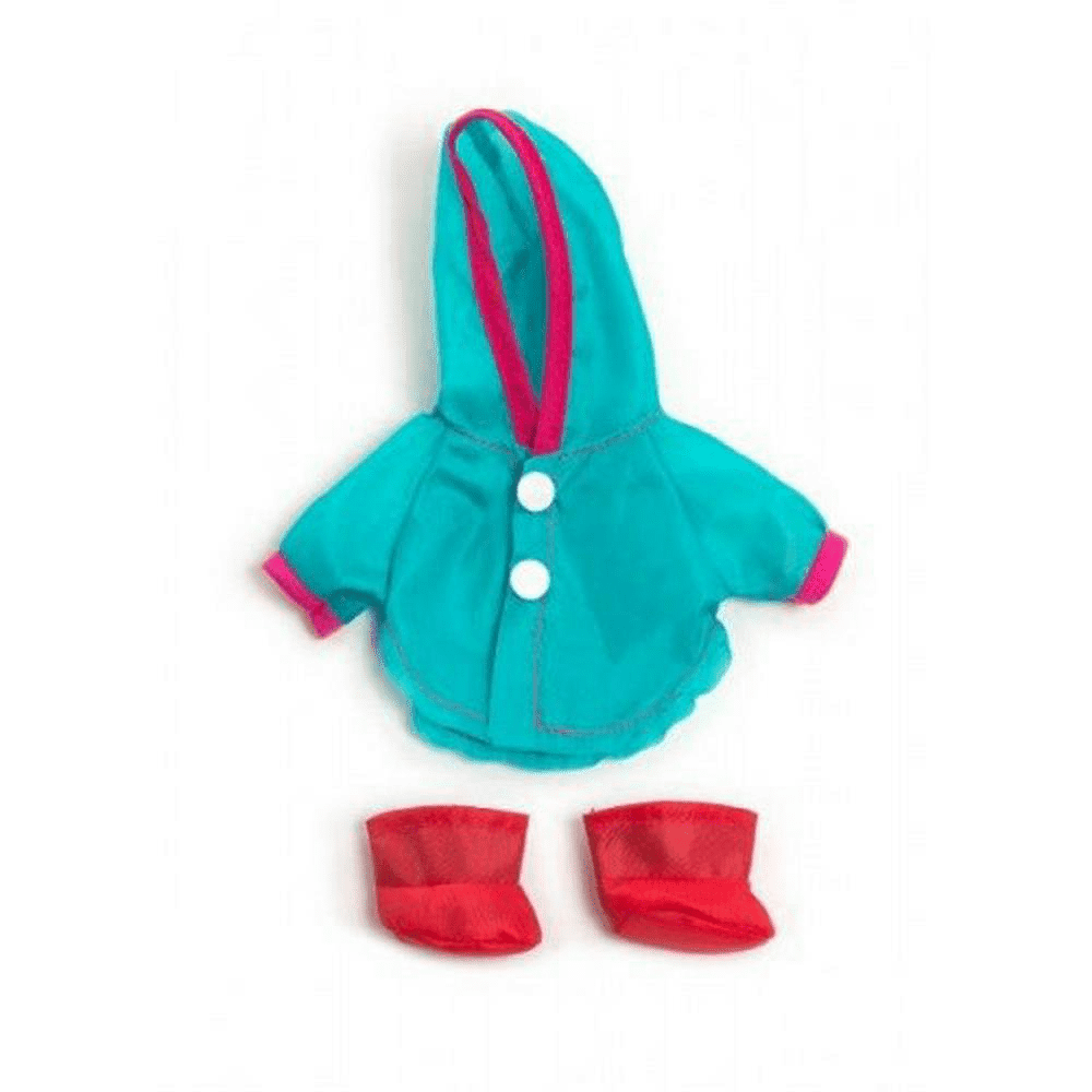 MINILAND Clothing Raincoat & Wellingtons set 21cm
