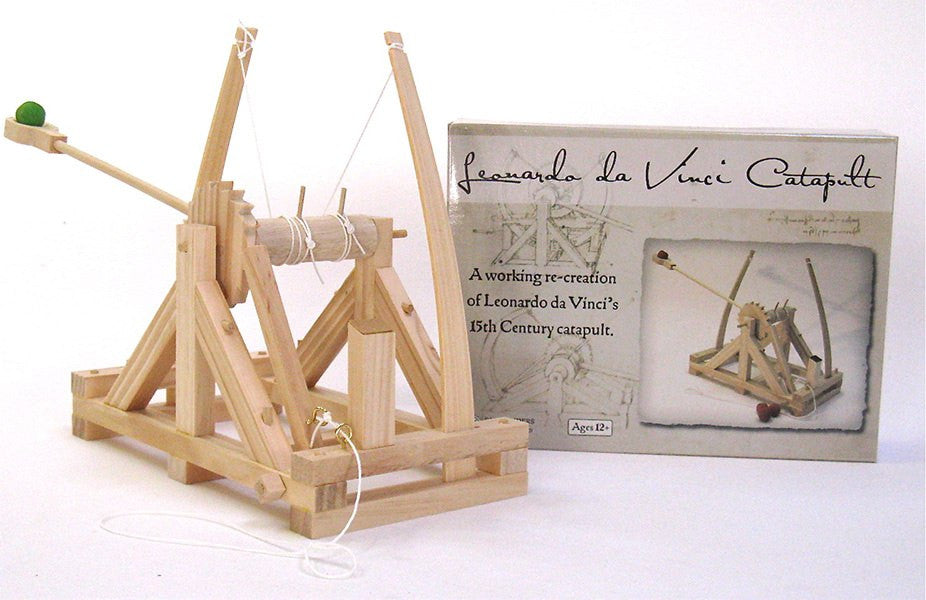 PATHFINDERS Da Vinci Catapult Wooden Kit