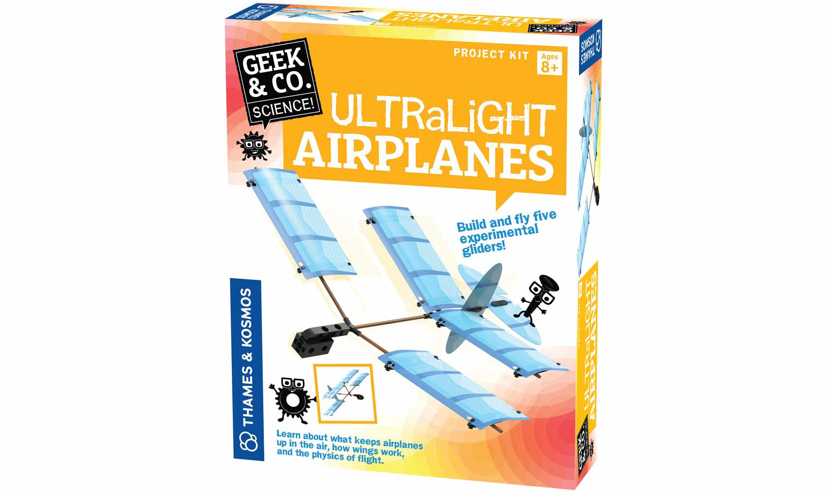 THAMES & KOSMOS - Ultralight Airplanes 550014