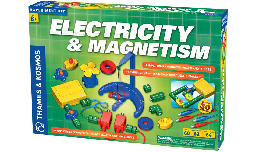 THAMES AND KOSMOS   Electricity and Magnetism Set