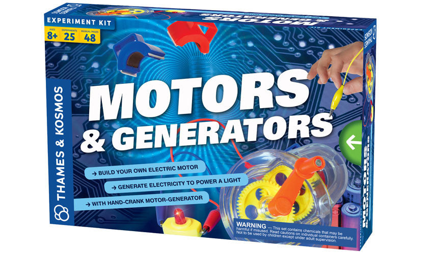 THAMES AND COSMOS Motors and Generators Kit