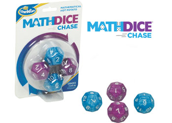 ThinkFun Maths Dice Chase Game