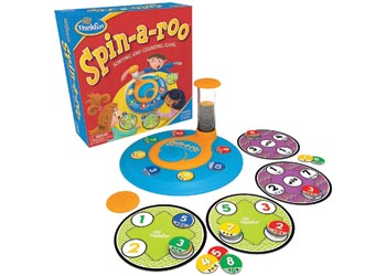 ThinkFun Spin a Roo Game - Counting