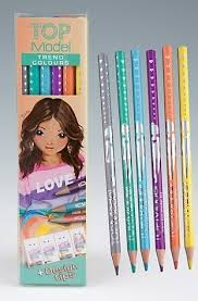 TOP MODEL Coloured Pencils Trend Colours