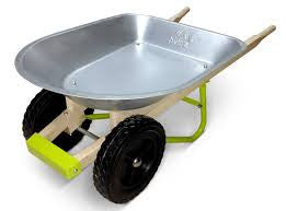 TWIGZ Metal Wheelbarrow with 2 Wheels