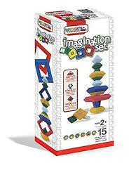 WEDGITS Buillding Set Imagination 15 pc
